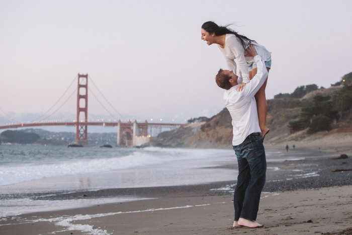 Engagement photos San Francisco