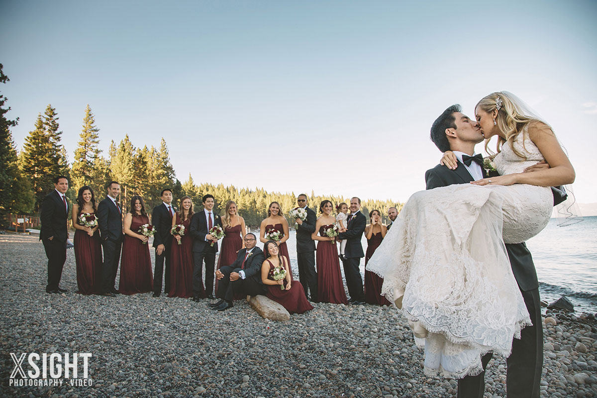 Tahoe Weddings | Lakeside Wedding At Sunnyside Resort In Tahoe Xsight Photography