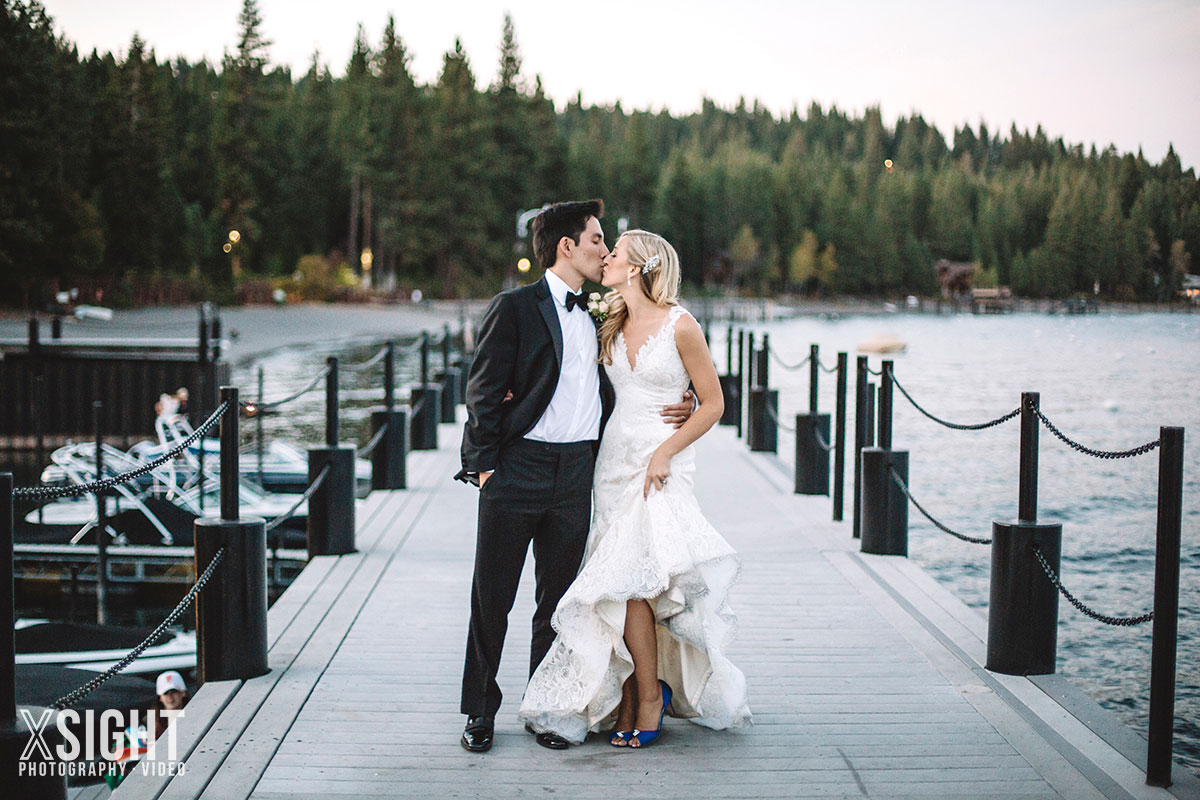 Lakeside Wedding At Sunnyside Resort In Tahoe Xsight Photography Video