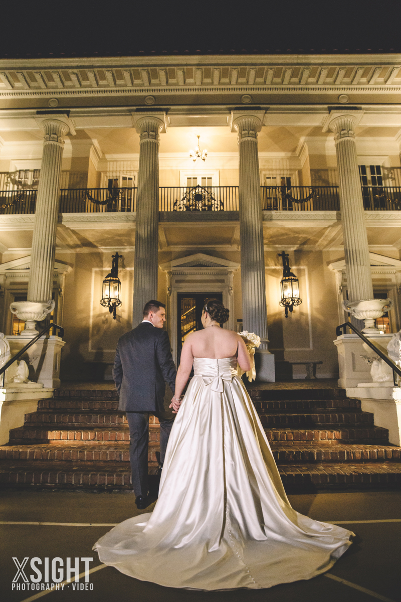 Carli & Roberts Grand Island Mansion Wedding by Xsight Photography