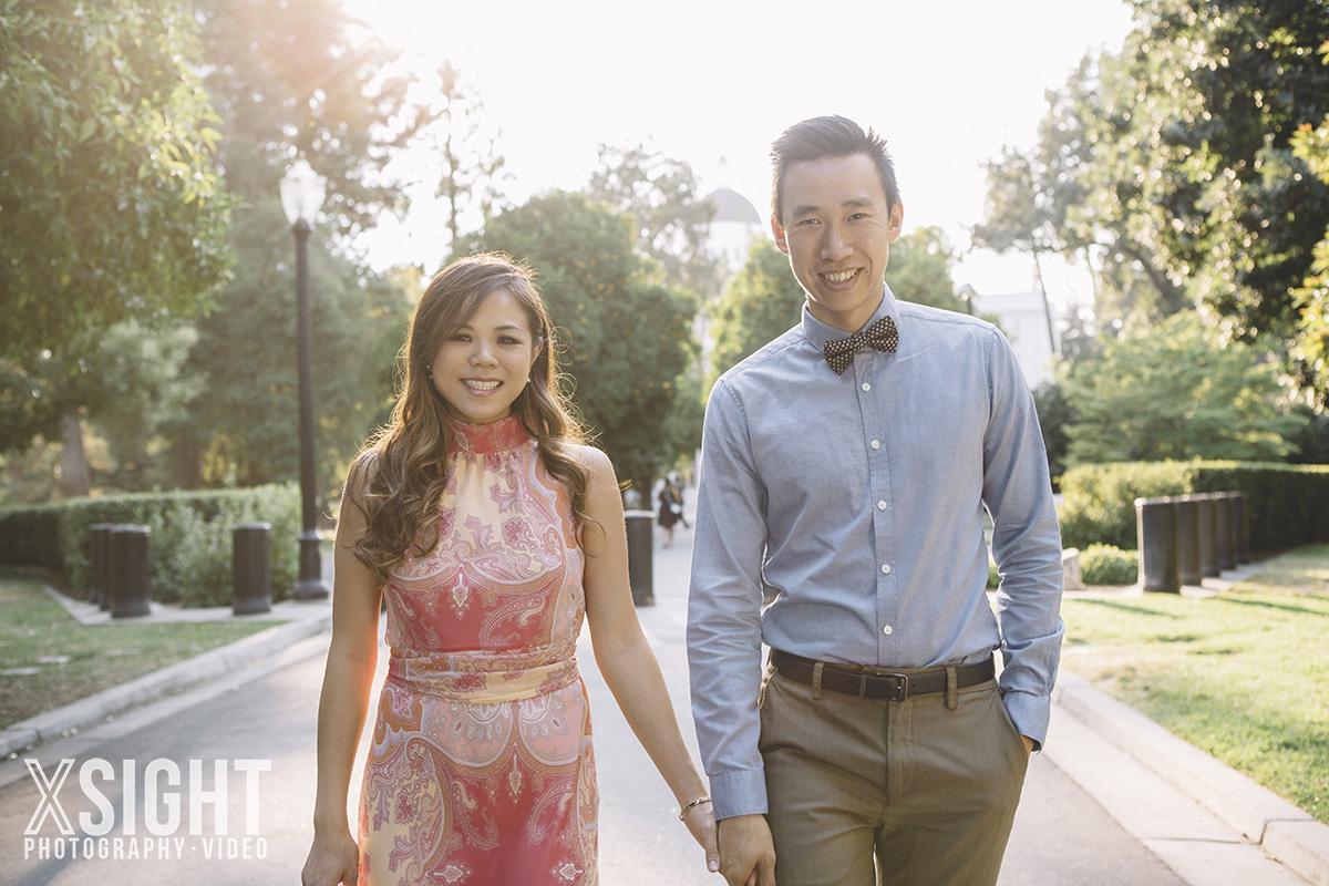 Lisa & Arthur downtown sacramento engagement photoshoot